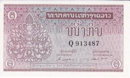 BILLETE DE LAOS DE 1 KIP DEL AÑO 1962 SIN CIRCULAR (BANKNOTE) UNCIRCULATED - Laos