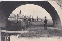 94  CACHAN La Bièvre Sous L'acqueduc 1918 - Cachan