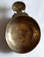 Tasse à Vin En Métal Plaqué Argent - Epoque XIXème Siècle - Gravé MOREL - Silverware
