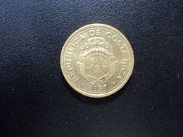 COSTA RICA * : 5 COLONES   1997 (a)     KM 227a      SUP+  ** - Costa Rica