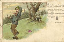 Illustrateu Un Chasseur Maladroit Poème - Autres