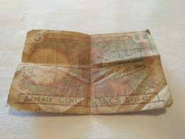 Billet De 5 Francs  Afrique Française Libre 1935 - Other - Africa