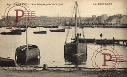 CAMARET VUE GÉNÉRALE PRISE DE LA JETÉE LA BRETAGNE  Francia France Frankrijk - Camaret-sur-Mer