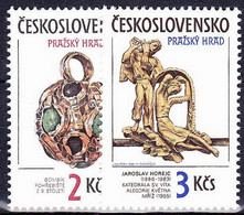 ** Tchécoslovaquie 1986 Mi 2865-6 (Yv 2678-9), (MNH) - Nuevos