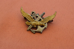 INSIGNE COMMANDO HUBERT - Navy