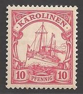 Deutsche Kolonien Karolinen Michel Nummer 9 Postfrisch - Kolonie: Carolinen