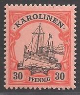 Deutsche Kolonien Karolinen Michel Nummer 12 Postfrisch - Kolonie: Carolinen