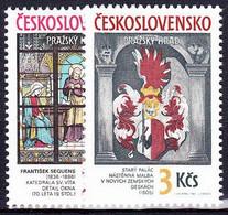 ** Tchécoslovaquie 1987 Mi 2909-10 (Yv 2720-1), (MNH) - Nuevos