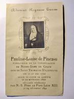 Image Pieuse - Religieuse Pauline-Louise De Pinczon - BE - Devotion Images