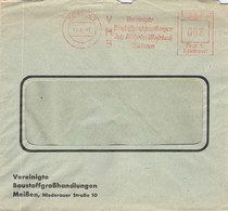 008 Pfg.Freistempel Meißen 1941 - Marcofilia - EMA ( Maquina De Huellas A Franquear)