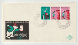 FDC First Day Of Issue NVPH 87 The Netherlands-nederland-pays Bas Kinderpostzegels-giraf1967 - FDC