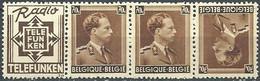 EVBB - Belgique - België - Belgien - Belgium - COB - OBP - PUc 98A - ** MNH - Pub Pour Telefunken - Radio - Werbung