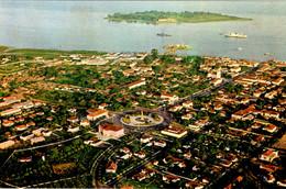 GUINÉ BISSAU - Vista Aérea Parcial E Ilheu Do Rei (Bissau) - Guinea-Bissau
