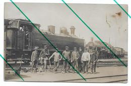 Locomotive 3682 Schaerbeek Photo Carte - Trains