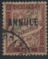 France Maury C.I. 57 (Yvert T40-CI1) O Taxe Duval 1F - Cours D'Instruction