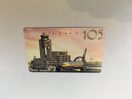 (1 A 20) Phonecard - Japan  - (1 Phonecard)  Japan Airport - Aerei