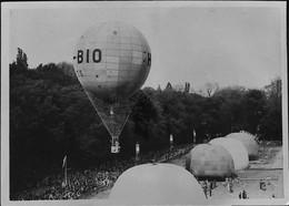 LE  MANS - SUPERBE PHOTO (Original ) Du GRAND PRIX Des SPERIQUES En 1937 Au Mans - Balloons