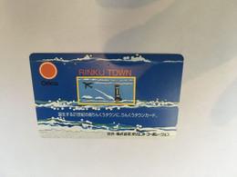 (1 A 20) Phonecard - Japan  - (1 Phonecard)  Japan - RInku Town - Aerei