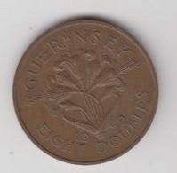 GUERNESEY - EIGHT DOUBLE  1959 TTB+ - Guernsey