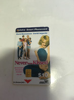 (1 A 20) Phonecard - Australia - (1 Phonecard)  Never Been Kissed Before (novie) - Cinema