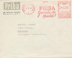 EMA F152 Bruxelles 1960 – Priba – Garantie De Qualité - 1960-79