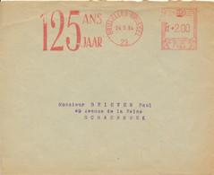 EMA F584 Bruxelles 1954 – Assurance Union Vie 125 Ans - ...-1959
