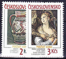 ** Tchécoslovaquie 1988 Mi 2975-6 (Yv 2779-80), (MNH) - Nuevos