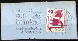 Deutschland Lot 7 Postflamme 1974 Wiesbaden Mülheim Sylt Husum  Gut Preis - Machine Stamps (ATM)