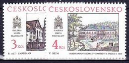 ** Tchécoslovaquie 1988 Mi 2977-8 (Yv 2781-2), (MNH) - Nuevos
