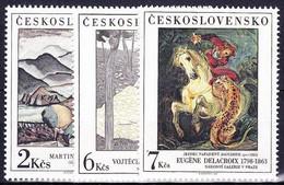 ** Tchécoslovaquie 1988 Mi 2979-81 (Yv 2783-5), (MNH) - Nuevos