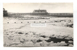 Herne Bay - Frozen Sea And Pier, 1963 - Kent Real Photo Postcard - Altri