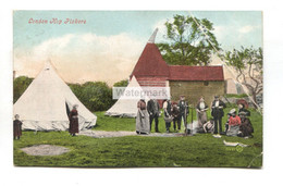 London Hop Pickers, Tent And Oast House - 1905 Used Kent Postcard - Altri