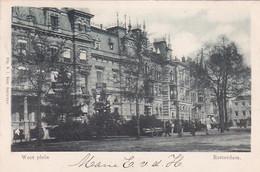 2603678Rotterdam, West Plein. – 1900. - Rotterdam