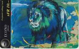 SWITZERLAND - PHONE CARD - PRÉPAYÉE ECONOPHONE  ***  CIRQUE KNIE & LION *** - Giungla