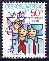 ** Tchécoslovaquie 1989 Mi 3000 (Yv 2804), (MNH) - Nuevos