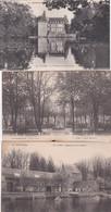 283328Flers, Dépendances Du Chateau – Square Delaunay – Le Chateau Et Le Petit Etang (3 Cartes) - Flers