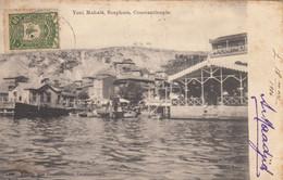 TURQUIE -CONSTANTINOPLE  -YENI MAHALE -BOSPHORE - Turkey