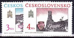 ** Tchécoslovaquie 1989 Mi 3022-3 (Yv 2823-4), (MNH) - Nuevos