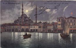 TURQUIE -CONSTANTINOPLE  - JENI DJAMI AU CLAIR DE LUNE - Turkey