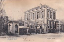 4817103Amsterdam, Ingang Artis. (poststempel 1903)(Kaart Is Iets Bobbelig Door Waterschade ?, Zie Achterkant) - Amsterdam