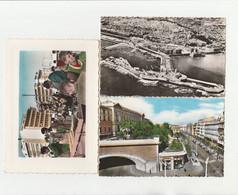 3 CPSM:ALGER EL DJEZAÏR MARCHÉ PLACE DU GOUVERNEMENT,RUE MICHELET FACULTÉS TUNNEL,VUE - Algiers