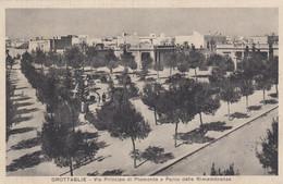 Puglia  - Taranto - Grottaglie - Via Pricipe Di Piemonte E Parco Della Rimembranza - F. Piccolo - Viagg - Bella Animata - Autres Villes