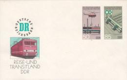 DDR  U 3, Postfrisch, Eisenbahn 1985 - Umschläge - Ungebraucht
