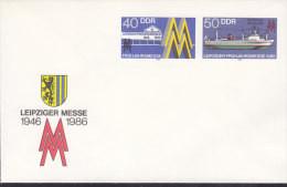 DDR  U 4, Postfrisch, Leipzioer Messe 1986 - Umschläge - Ungebraucht