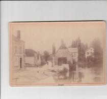 PHOTO CARTONNÉE (16.5X11 CM)  POLISOT (10)  ANNÉE 1880 - Other