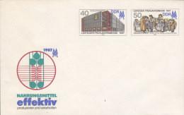 DDR  U 6, Postfrisch, Leipziger Frühjahrsmesse 1987 - Umschläge - Ungebraucht