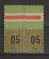 Saint Pierre Et Miquelon 1912 Série Surchargée 97-97a Se Tenant ** MNH - Unused Stamps