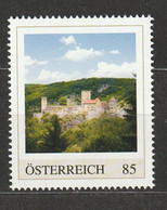 Österreich Personalisierte BM Sehenswürdigkeiten Burg Hardegg Niederösterreich ** Postfrisch - Private Stamps