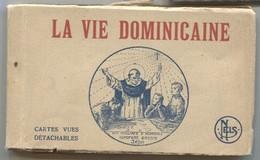 CPA - LA VIE DOMINICAINE - Scènes Religieuses Animées ...Clichés M.Hermanns / Liège - Carnet Complet 19 Vues - Zonder Classificatie