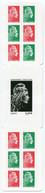 RC 21283 FRANCE N° 1525B MARIANNE L'ENGAGÉE CARNET AUTOADHESIF NEUF ** MNH TB - Definitives
